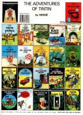 Verso de Tintin (The Adventures of) -7d1990- The Black Island