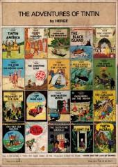 Verso de Tintin (The Adventures of) -7a1978- The Black Island