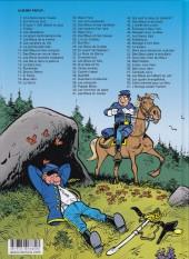 Verso de Les tuniques Bleues -61- L'étrange soldat Franklin