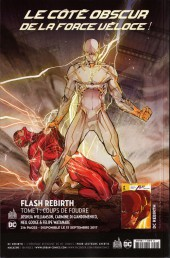 Verso de Justice League Rebirth (DC Presse) -4- Tome 4