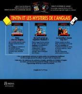 Verso de Tintin - Divers - Tintin et les mystères de l'anglais