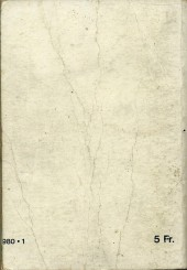Verso de Z33 agent secret -Rec20- Collection reliée N°20 (du n°77 au n°80)