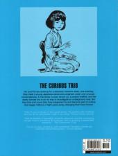 Verso de Yoko Tsuno (en anglais, chez Cinebook) -7- The Curious Trio