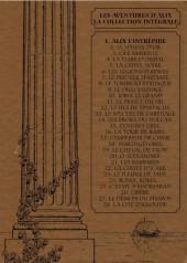 Verso de Alix - La collection (Fabbri) -1- Alix l'intrépide