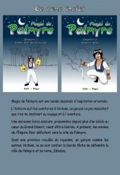 Verso de Magie de Palmyre -1- Tome 1