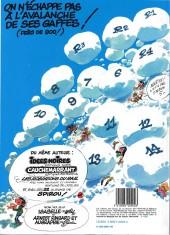 Verso de Gaston -14a1983- La saga des gaffes