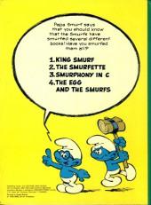 Verso de SMURFS (les Schtroumpfs en anglais, Dupuis) -3- Smurphony in C