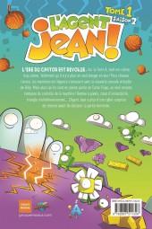 Verso de L'agent Jean ! -91- Épopée virtuelle