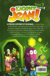 Verso de L'agent Jean ! -102- La Nanodimension