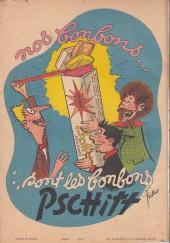 Verso de Les pieds Nickelés (3e série) (1946-1988) -12a- Font fortune