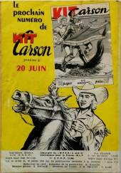 Verso de Kit Carson -5- Kit Carson et l'affaire du chemin de fer
