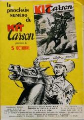 Verso de Kit Carson -12- Kit Carson et la déesse de la lune !