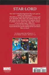 Verso de Marvel Comics : Le meilleur des Super-Héros - La collection (Hachette) -44- Star-Lord