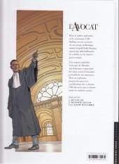 Verso de L'avocat -3- La loi du plus faible