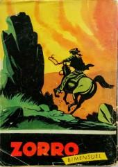Verso de Zorro (2e Série - SFP puis SFPI) -26- Les aventures de Zorro, La prime
