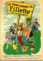 Verso de Fillette (Après-guerre) -HS54/06- N° spécial de vacances!