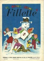 Verso de Fillette (Après-guerre) -HS57/12- Le Noël de Fillette
