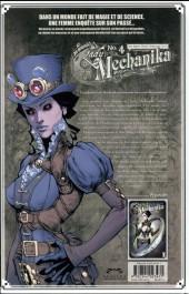 Verso de Lady Mechanika -4- Les Garçons perdus de West Abbey et La Dama de la Muerte
