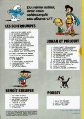 Verso de Johan et Pirlouit -6d81- La source des dieux