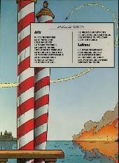 Verso de Lefranc -1d80- La grande menace