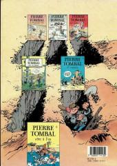 Verso de Pierre Tombal -2b1989- Histoires d'os