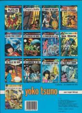 Verso de Yoko Tsuno -11a84- La Spirale du temps