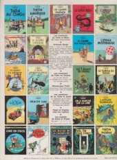 Verso de Tintin (Historique) -8C3bis- Le sceptre d'Ottokar