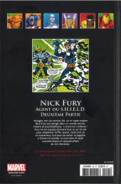 Verso de Marvel Comics - La collection (Hachette) -95VII- Nick Fury - Agent du S.H.I.E.L.D. Deuxième Partie