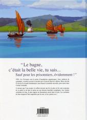 Verso de L'Île aux remords