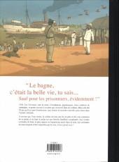 Verso de L'Île aux remords - Tome TL
