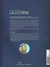 Verso de Tintin - Divers - Tous les secrets de la licorne
