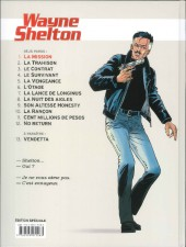 Verso de Wayne Shelton -1ES3- La Mission