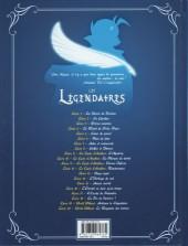 Verso de Les légendaires -20- World Without : Le Royaume des Larmes