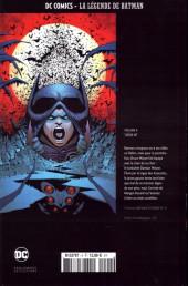 Verso de DC Comics - La légende de Batman -460- Tueur né