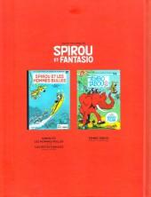 Verso de Spirou et Fantasio -2- (Divers) - Trois histoires de Spirou et Fantasio