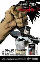 Verso de Batman Rebirth (DC Presse) -5- Tome 5