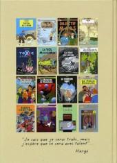 Verso de Tintin - Pastiches, parodies & pirates - Anthologie des parodies, pastiches et hommages
