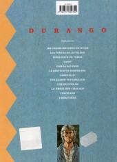 Verso de Durango -5C2003- Sierra Sauvage