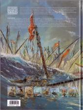 Verso de Les grandes batailles navales -5- Lépante
