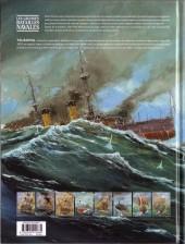Verso de Les grandes batailles navales -4- Tsushima