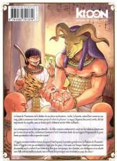 Verso de Reine d'Égypte -3- Tome 3
