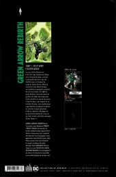 Verso de Green Arrow Rebirth -1- Vie et mort d'Oliver Queen