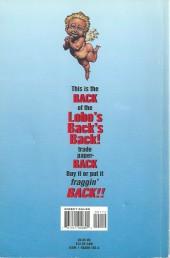 Verso de Lobo's Back (1992) -INT- Lobo's Back's Back
