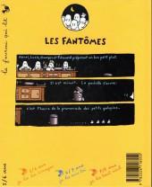 Verso de Sacrés fantômes - Les petits galopins (les fantômes)