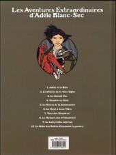 Verso de Adèle Blanc-Sec (Les Aventures Extraordinaires d') -2e17- Le démon de la Tour Eiffel