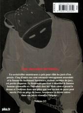 Verso de Museum - Killing in the rain -3- Volume 3