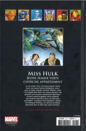 Verso de Marvel Comics - La collection (Hachette) -9662- Miss Hulk - Jeune Femme Verte Recherche Appartement