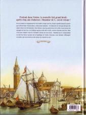 Verso de Giacomo C. - Retour à Venise -1- Tome 1