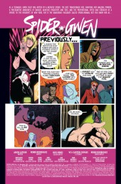 Verso de Spider-Gwen (2015) [I] -24- Issue #24