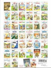 Verso de Astérix (en allemand) -37- Asterix in Italien